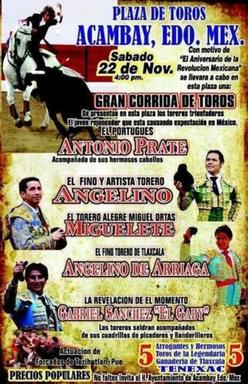 António Prates preenche agenda no México