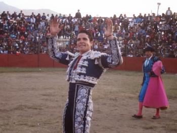Orelha para Diogo dos Santos em Espinar (Peru)