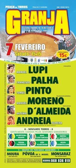 Cartaz do Festival Taurino da Granja