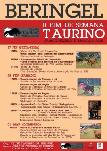 Beringel recebe o seu II Fim de Semana Taurino