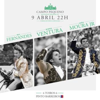 Promo Faenas TV - Diego Ventura 9 de abril no Campo Pequeno