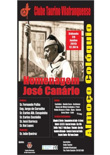 Homenagem a José Canário