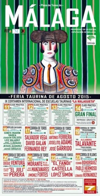 João Martins em Málaga dia 1 e 12 de Agosto