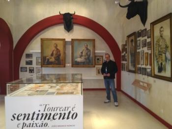 Visitante dez mil no museu do Campo Pequeno