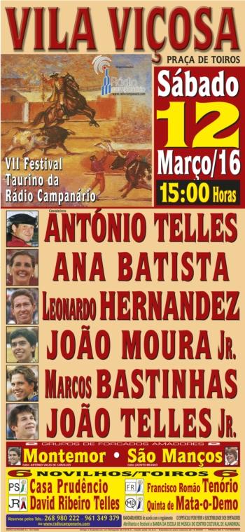 VII Festival Taurino da Rádio Campanário: Bilhetes já à venda e um grande ambiente em volta deste festival