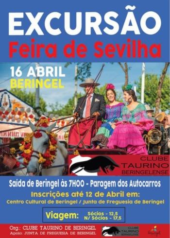 Clube Taurino Beringelense organiza excursão à Feira de Abril em Sevilha