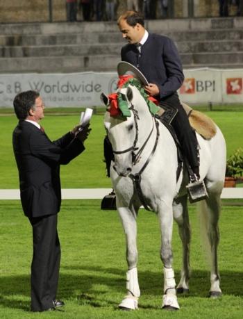 DARDO - melhor cavalo de toureio debutante pela APSL