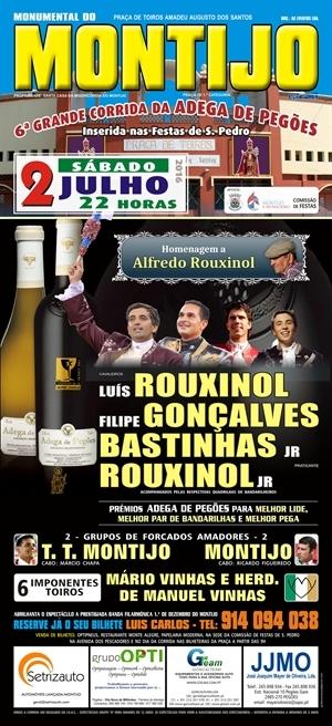 Hoje homenageia-se Rouxinol Pai no Montijo