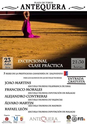 João Martins (Escola Toureio José Falcão) toureia hoje e amanhã em Espanha