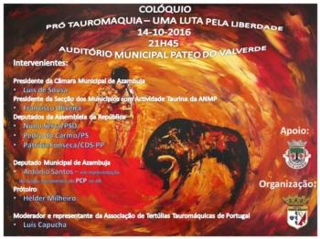 Tertulia Festa Brava promove colóquio no dia 14