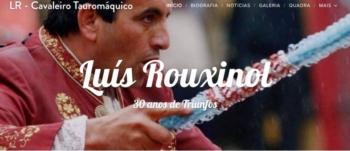 LUÍS ROUXINOL LANÇA SITE
