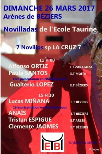 Novilhadas de Escolas Taurina - França