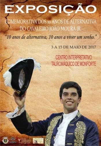 Exposição e homenagem ao cavaleiro João Moura Jr. pelos seus 10 anos de Alternativa