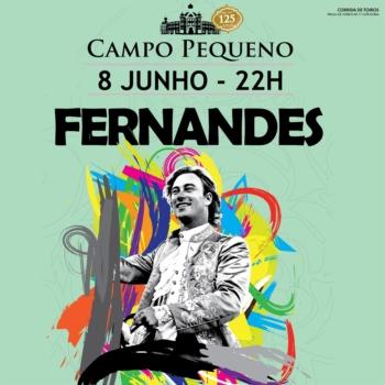 Rui Fernandes inicia a temporada 2017, no dia 8 de junho no Campo Pequeno