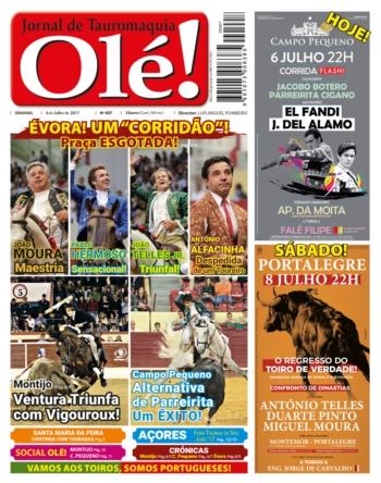 Jornal Olé! 407, já nas bancas
