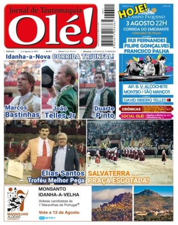 Jornal Olé! 411, hoje nas bancas