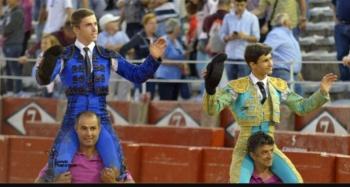 João D'Alva saiu a ombros na feira de Salamanca