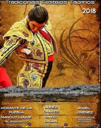 Amanhã iniciam os festejos taurinos em Barrancos
