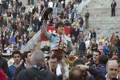 Roca Rey máximo triunfador da tarde em Valencia