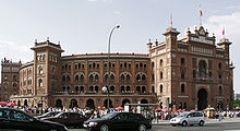 Corrida de Toiros no Domingo de Ramos em Madrid