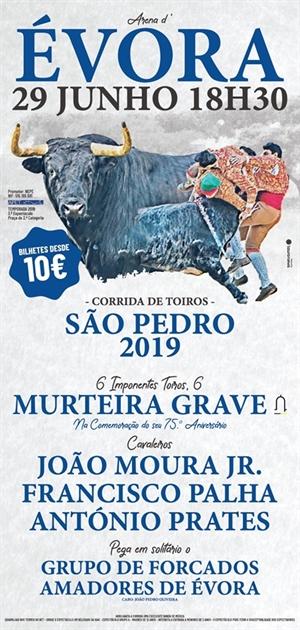 Évora - Corrida de Toiros de São Pedro - 2019