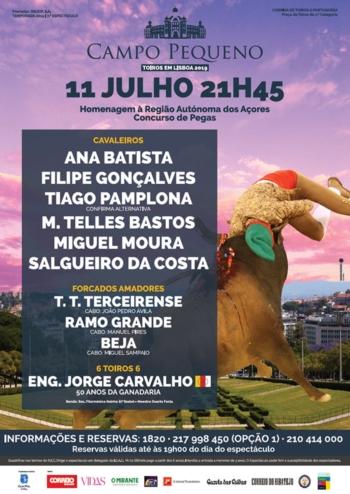 Homenagem à Região Autónoma dos Açores - Concurso de Pegas